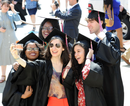The 2017 Purchase College Commencement at the Westchester Civic Center in White Plains, N.Y., Friday, May 19, 2017.