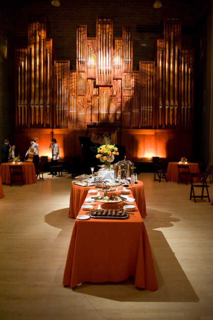 Post Show Reception in Organ Room, 5 Browns