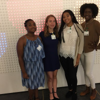 Students from Peekskill High School attended a Powherful Conference at Google in NYC