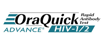 Logo for Oraquick HIV test