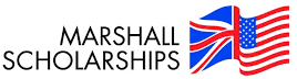Marshall Scholarships logo - British and American flags combined
