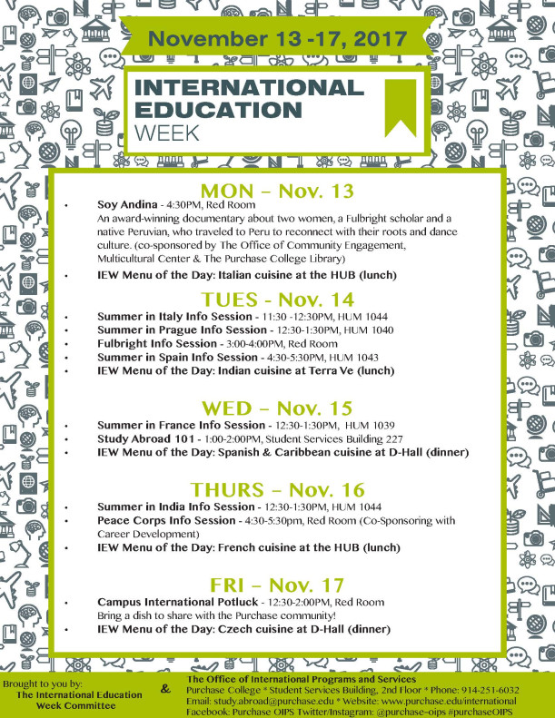 International education week office of international programs and services purchase college - International programs office ...