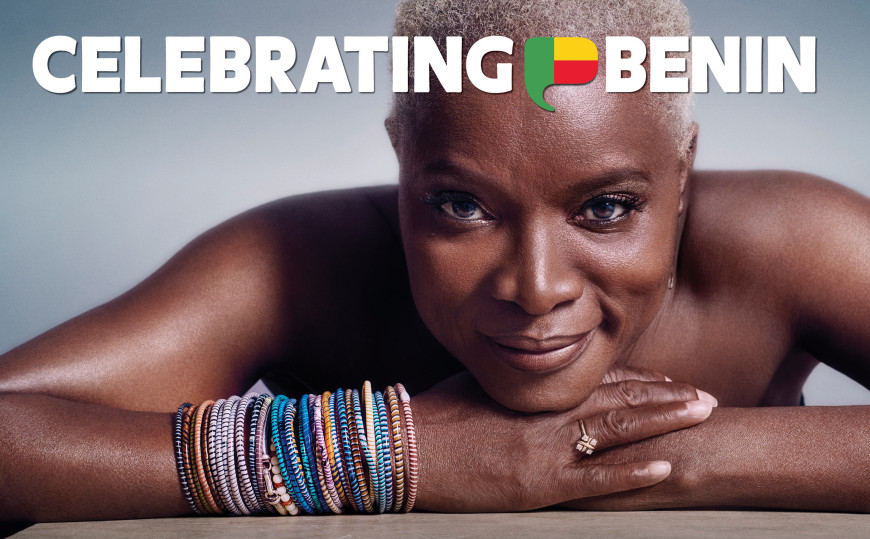 Celebrating BeninSinger, activist, and humanitarian, Angélique Kidjo / Photo: Sonia and Mauro