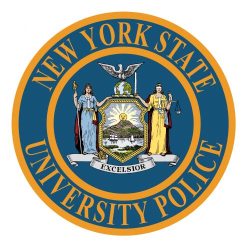 Emergency Blue Light Phone Map New York State University Police - Us map college logos