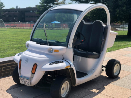 SUNY Purchase Electric Vehicle