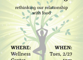 Holistic Eating - rethinking ourr relationship to food.