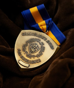 Chancellor's Award for Excellence medallion