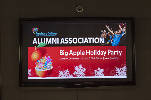 Purchase College Alumni Association Big Apple Holiday Party