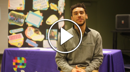 Eddieomar G., a student in the Purchase College Conservatory of Dance, describes the impact emergency relief funds had on his life