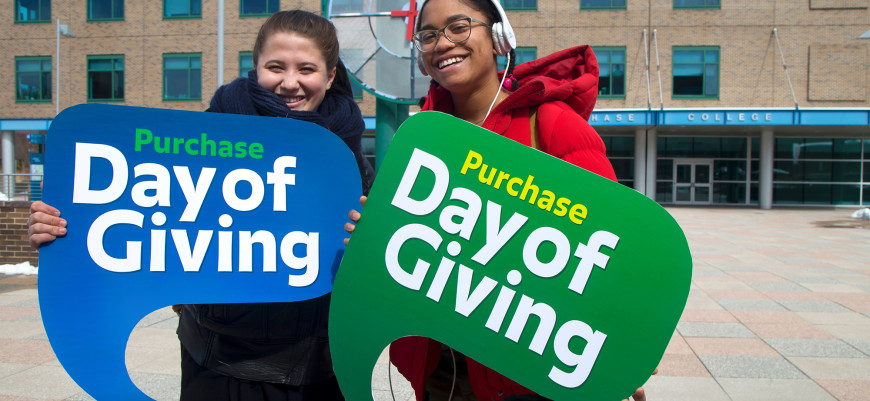 Thank you for supporting the Purchase Day of Giving!