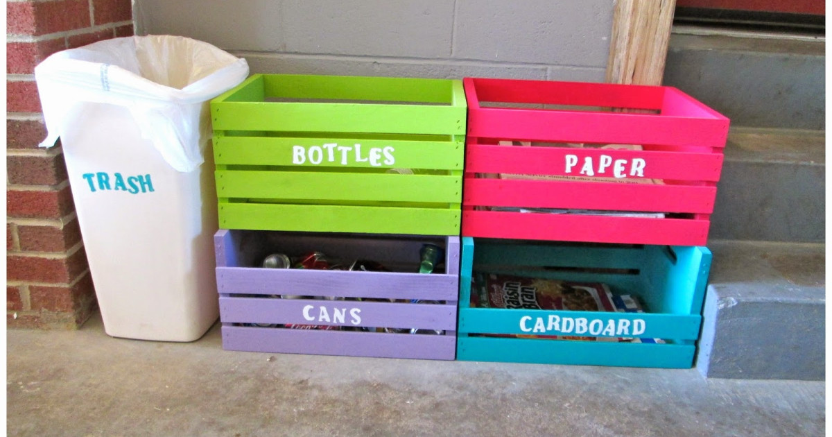 Diy Recycle Bins For Your Room Student Involvement