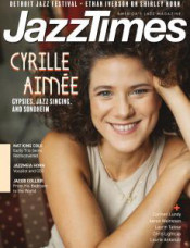 Cyrille Aimée '09 on the Cover of JazzTimes magazine