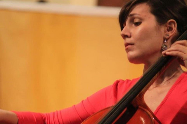 Adriana Pera and cello