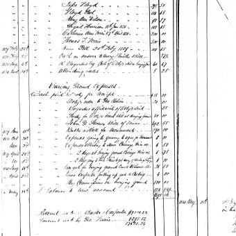 Account Ledger People of the State of New York
