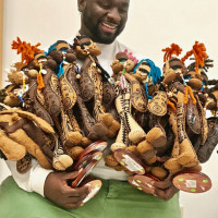 Syracuse artist Jaleel Campbell creates gender-inclusive 'Jalethal Dolls'