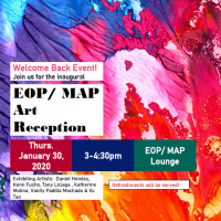 Flyer for January Art Opening