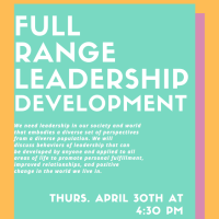 Full Range Leadership Development Workshop Flyer