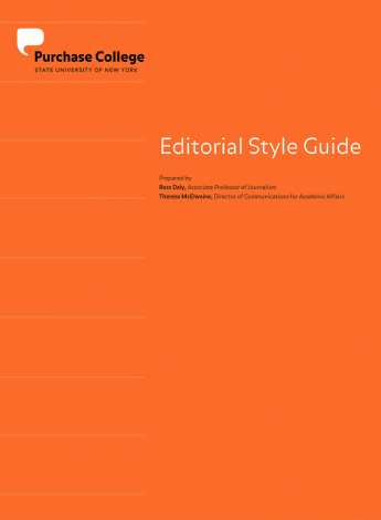 Editorial Style Guide Punctuation