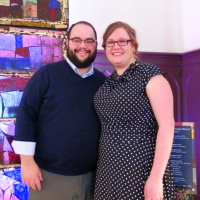 Rob Corradi '08 and his wife Tabitha