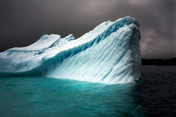 """Breaching Iceberg, Greenland"" Aug 8, 2008, ""The Last Iceberg"" series"