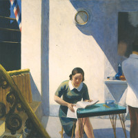 Edward Hopper, Barber Shop, 1931 Oil on canvas, 60 x 78 inches Collection Neuberger Museum of Art, Purchase College, State...