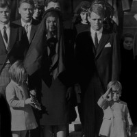 John Shearer, Kennedy Funeral, 1963, Black & white photograph, 30 x 20 inches