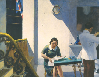 Edward Hopper, Barber Shop, 1931Oil on canvas, 60 x 78 inchesCollection Neuberger Museum of Art,P...
