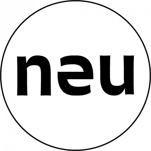 Neuberger Museum of Art logo in a simple black and white outline format