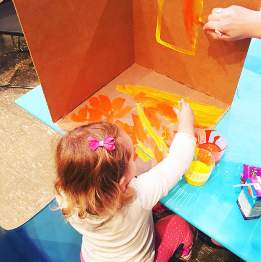 Spring Open Studio for Kids