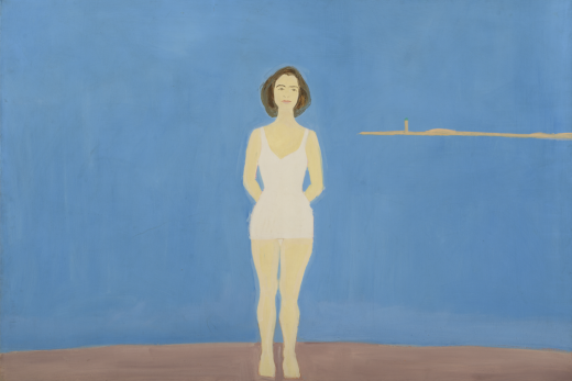 Alex Katz, Bather