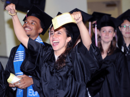 2016 Purchase College Commencement at the Westchester Cvic Center in White Plains, N.Y., Friday, May 13, 2016.
