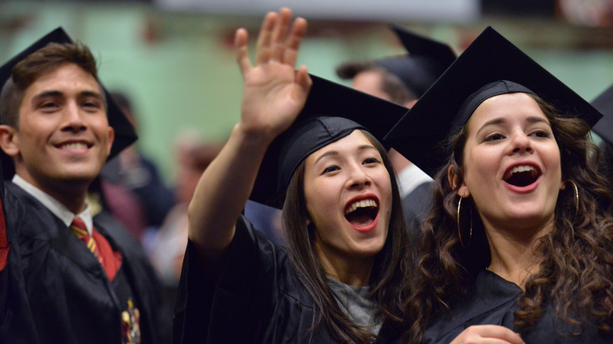 The 2015 Purchase College Commencement at the Westchester County Center in White Plains, N.Y., Friday, May 15, 2015.