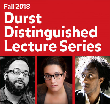 Durst Lecture Series image - photos of those lecturing.