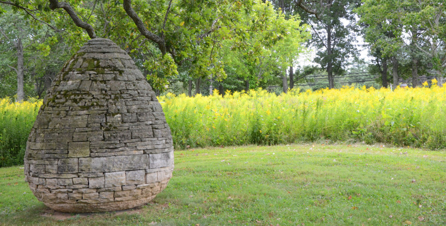 Andy Goldsworthy, East Coast Cairn. Three Cairns is Andy Goldsworthy's largest project in the Wes...