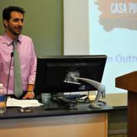 Casa Purchase, Prof. Leandro Benmergui speaking.