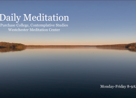 Join us for daily meditation