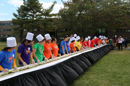 Sushi Roll Record