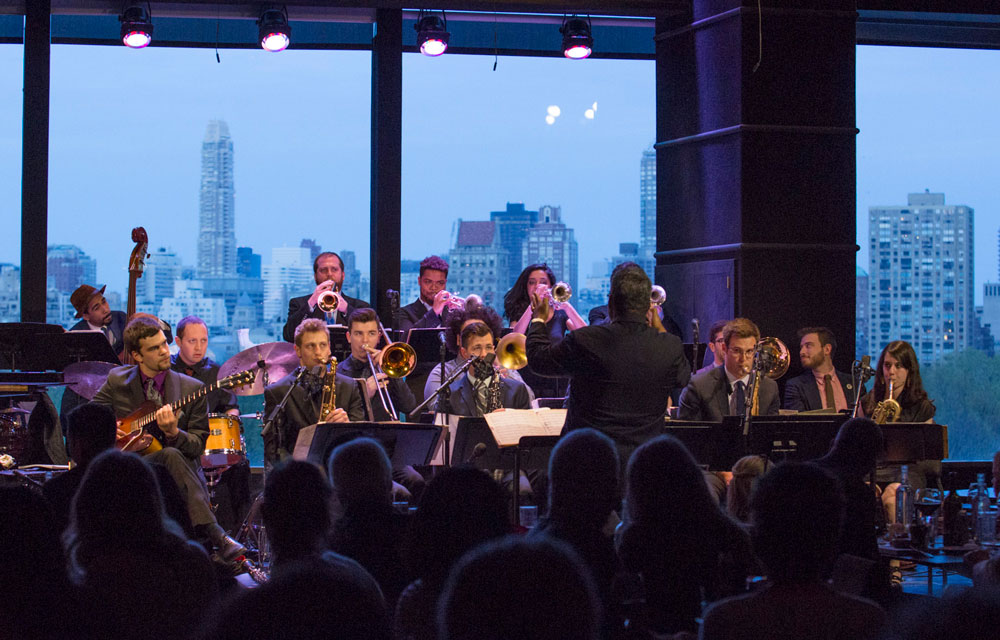 Purchase Jazz Orchestra performs at Dizzy's Club Coca-Cola/Jazz at Lincoln Center