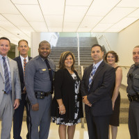 Police officers gathered from around the region to learn about best practices in sexual assault investigations. Seen here:...