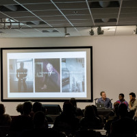 Two Purchase photography students and an alumnus of the program discussed their work at a symposium honoring the work of G...