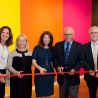 Stacy Hengsterman, Chief of Staff, SUNY; Lynn Halbfinger, Vice Chair, Board of Directors, Friends of the Neuberger Museum ...