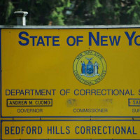 Bedford Hills Correctional Facility sign