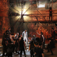 Jesus Christ Superstar Live in Concert / Ben Green '15 earned Emmy nomination for lighting direction.
