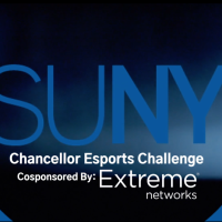 SUNY Esports Challenge Co-sponsored by Extreme Networks