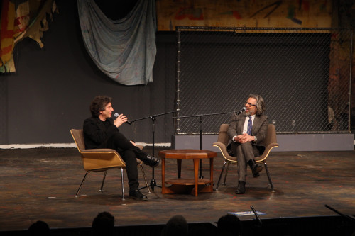Neil Gaiman and Michael Chabon