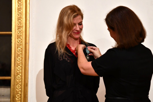 Anne Kern Awarded Chevalier of the Order of Arts and Letters