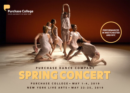 Conservatory of Dance Spring 2019 Concert flyer