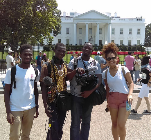 New York crew travels to Washington D.C for their documentary.