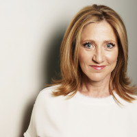 In this April 21, 2015 photo, actress Edie Falco poses for a portrait on Tuesday, April 21, 2015 ...