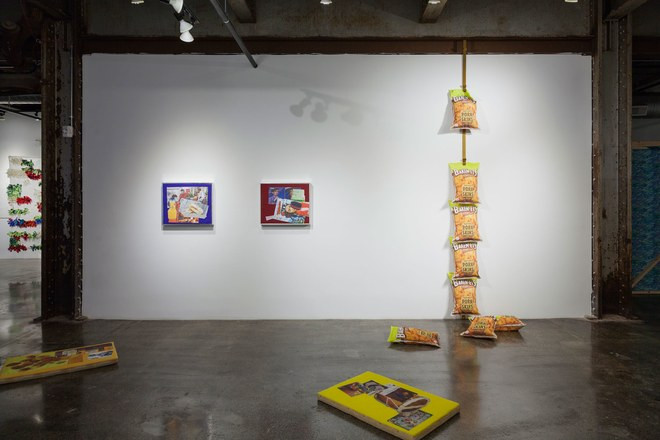Installation view at Red Bull House of Art, Detroit (Photo: Claire Gatto)
